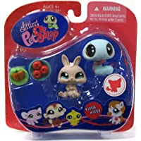 Littlest Pet Shop Snake & Rabbit #1258 & #1259 ~ Walmart Exclusive [並行輸入品]