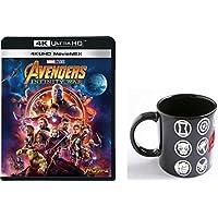 【Amazon.co.jp限定】アベンジャーズ/インフィニティ・ウォー 4K UHD MovieNEX(3枚組) オリジナルマグカップ