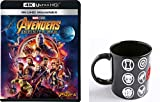 【Amazon.co.jp限定】アベンジャーズ/インフィニティ・ウォー 4K UHD MovieNEX(3枚組) オリジナルマグカップ [4K ULTRA HD + 3D + Blu-ray + デジタルコピー+MovieNEXワールド]