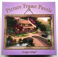 Picture Frame Puzzle Bridge Cottage 250 piece Jigsaw Puzzle [並行輸入品]