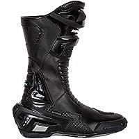 Spada x-race防水バイクオートバイスポーツレースブーツ–ブラックEC 42