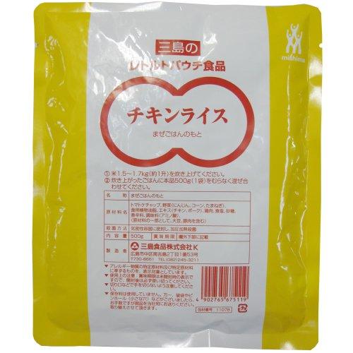 三島食品 混ぜ込みチキンライス 500g