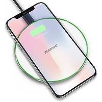 Qi ワイヤレス 充電器 Steanum ワイヤレス チャージャー 10W 急速 無線スマホ充電器 qi 置くだけで充電 iPhone X/iPhone 8/8 plus、Galaxy S9/S9+/Note 8/S8/S8+/S7/S7 edge/S6 などAndroid 他Qi対応機種 White(白)