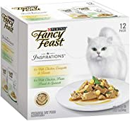 Fancy Feast Inspirations Chicken Multipack, Adult, 24x70g