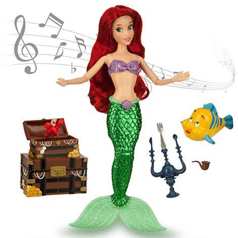 Disney(ディズニー) リトル・マーメイド シンギング ドール アリエル ( Disney 人形 ミッキーマウス ・ クラブハウス グッズ ) アリエル 歌う人形セット (28cm) [並行輸入品]