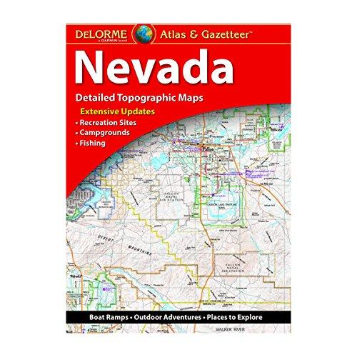 Download Delorme Nevada Atlas & Gazetteer (Delorme Atlas & Gazetteer) 1946494100