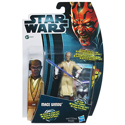Hasbro Star Wars 2012 Clone Wars basic figure Mace Windu /Star Wars 2012 The Clone Wars Action Figure CW8 Mace Windu [parallel import]