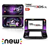 Ci-Yu-Online VINYL SKIN [new 3DS XL] - Pokemon #2 Gastly Haunter Gengar - Limited Edition STICKER DECAL COVER for NEW Nintendo 3DS XL / LL Console System by Ci-Yu-Online [並行輸入品]