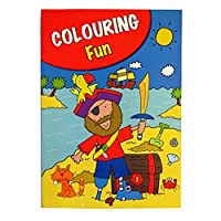 Boys A4 Colouring Book - 60 Pages - Pirates, Dinosaurs, Space and More - Book 1 - by Pennine