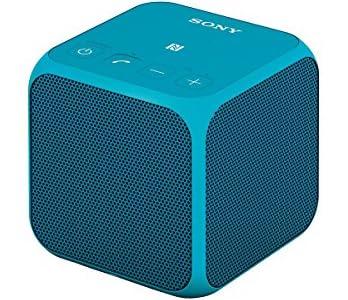 ソニー SONY ワイヤレスポータブルスピーカー SRS-X11 : Bluetooth/NFC対応 ブルー SRS-X11 L