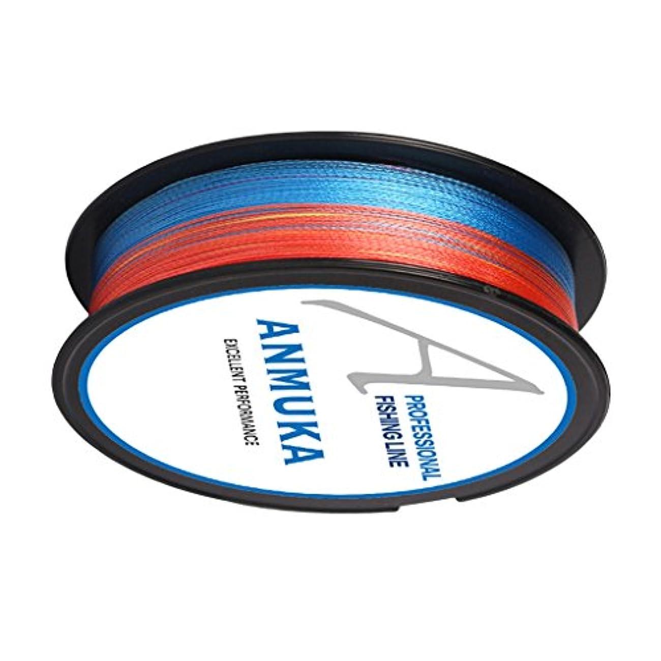 ホイッスルなぜ無数のT TOOYFUL 100m フィッシングライン 釣り糸 釣りライン 編み PEライン 防水 超強力 釣り用品 全6色