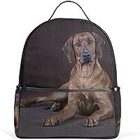 Mydaily Rhodesian Ridgeback Dog Backpack for Boys Girls School Bookbag