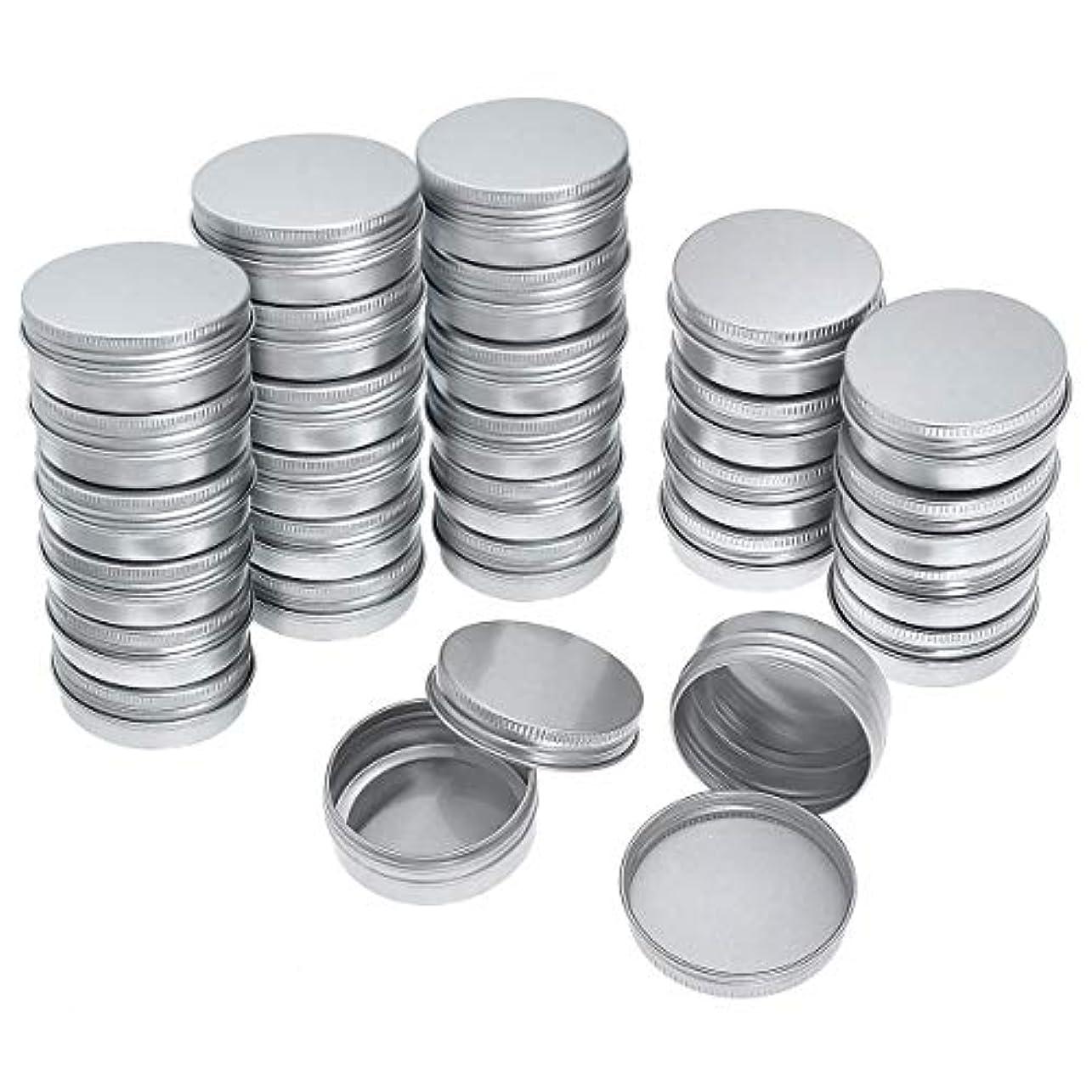 ティッシュ透明にハリケーンRETYLY 40パック ネジトップ ラウンド アルミ缶 - アルミネジふた ラウンド錫コンテナボトル