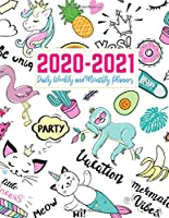 2020-2021 Daily Weekly and Monthly Planner: Simple Two Year Jan 1, 2020 - Dec 31, 2021 Calendar Organizer and Appointment Schedule Agenda Journal for Personal and Business - 24 Months Planner - Creative AG 0012