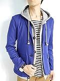 (モノマート) MONO-MART スーパーストレッチ テーラードジャケット 春 スプリング ジャケット メンズ ブルー Mサイズ (¥ 4,400)