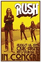 Poster - RUSH - Concert Wall Art Licensed Gifts Toys 24981