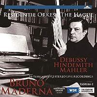 SSS0226 ドビュッシー:海/ヒンデミット:室内音楽第1番/マーラー:交響曲第10番~アダージョ ブルーノ・マデルナ(指揮) ハーグ・レジテンティ管弦楽団