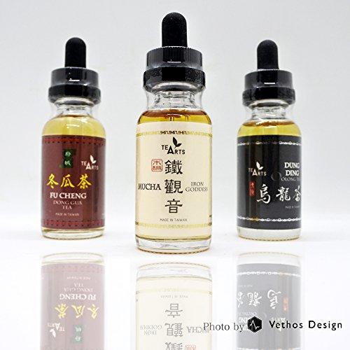 《Vethos Design》TeaArts 鉄観音(鐵觀音)30ml 烏龍茶 フレーバー