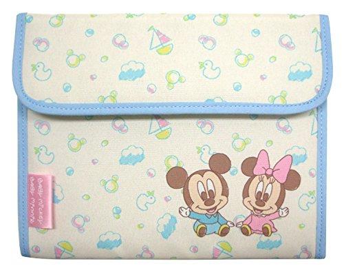 クーザ ジャバラ式母子手帳ケース (ベビーミッキー&ベビーミニー) DMM-2206