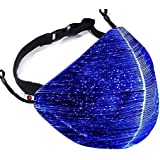 VRORKV LED Face Mask 7 Colors Changing Luminous Mask LED Rave Mask for Christmas, Party, Festival, Masquerade, Halloween, Cos