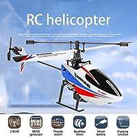 Weili V911-2 補助翼ドローンモデルのない4チャンネルシングルプロペラRCヘリコプター 7.4V 1500mA 6軸ジャイロ設定モード
