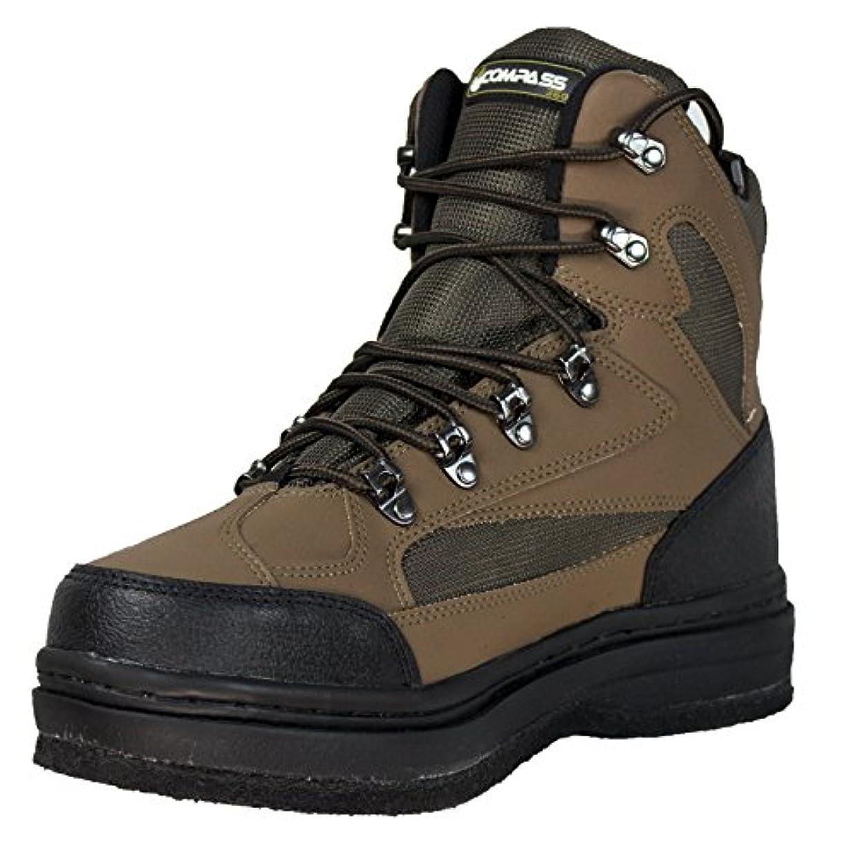 アジア挑む偽コンパス360 Ledges Felt Sole Wading Shoes