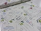 小関鈴子 旅の思い出 140オフ チンツ加工シャーティング生地  |YUWA |作家|生地|布|生地|布地|インテリア|エプロン|小物|カバー|手作り|通販|服地|すてき|素敵|