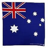 コットン100%大判ハンカチ バンダナ(国旗) (オーストラリア)