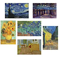 Vincent Van Gogh Starry Night有名な絵画はがき 60 Pack