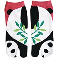 Cute Animal Women's Ankle Socks Japanese Tabi Split Toe style - Panda