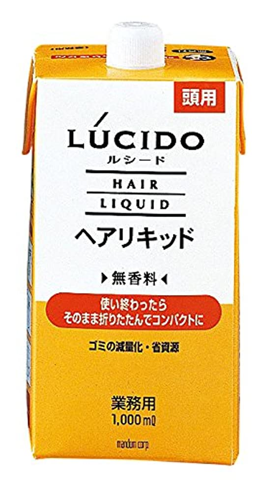 年金半円トークンマンダム LUCIDO(ルシード) ヘアリキッド 1000ml