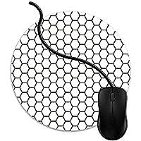 マウスパッド 地下鉄のタイル, 疲労低減 ワイヤレスマウスパッド 耐久性が良い 滑り止めゴム底 滑りやすい表面 マウス用パット 1J1913