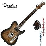 Bacchus Universe Series TACTICS-BP/R BK-B(ブラックバースト) ・バッカス/バールポプラトップ仕様・テレキャスタータイプ
