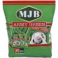 MJB アーミーグリーンドリップコーヒー7g×30P×2袋