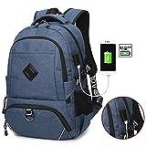リュックパック バックパック 旅行バッグ 大容量 PCバッグ USBポート付き 充電 多機能 耐衝撃 盗難防止 通勤 通学 レディース メンズ