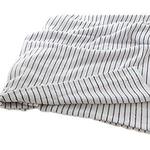 モフア タオルケット シングル ほつれにくくやわらか仕様 綿 100% ネイビー mofua 55370107
