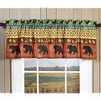 ブラックフォレストDecor Bear &ムースWildlife飾り布