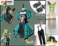 Fate/Grand Order グランドオーダー FGO アタランテ コスプレ衣装+ウィッグ+靴+靴下+手の鎧+しっぽ 全セット