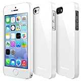 iPhone SE ケース, Ringke [Slim] 超スリム軽量ケース ストラップホール リンケ スリムfor Apple iPhone SE (2016) / 5S (2013) / 5 (2012) (LF White)