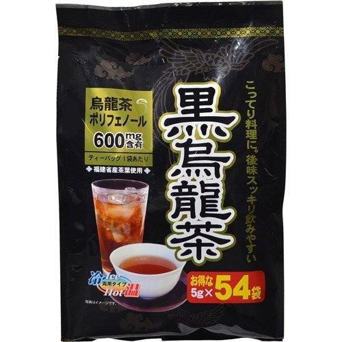 黒烏龍茶 ティーバッグ 5gX54