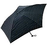 ワールドパーティー(Wpc.) キウ(KiU) 雨傘 折りたたみ傘  ブラック 黒  50cm  レディース メンズ ユニセックス 超軽量90g K34-039