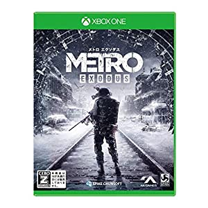 メトロ エクソダス - XboxOne 【CEROレーティング「Z」】 (【早期購入特典】「メトロ2033」(Xbox One版)ゲーム本編ダウンロードコード封入 同梱)