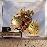 クリスマスの装飾タペストリーの壁掛け布の掛け布団デジタル印刷壁画のテーブルクロスピクニックブランケットテレビの壁の壁アートの壁の家のベッドルームのリビングルームの子供の部屋のタペストリー (Color : 021)