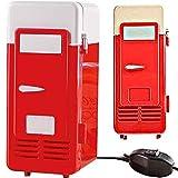 (ベルク)VELUC USB 温冷庫 冷蔵庫 保温 保冷 ドリンクサーバー 保存 デスク 小型 ミニ シンプル おしゃれ 可愛い 便利 オフィス 会社 白 赤 ~ オリジナルメッセージカードセット ~
