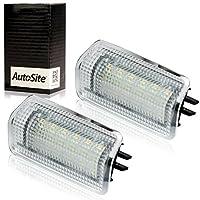 [ AutoSite ] LED ドアランプ セット レクサス IS 専用 純正ユニット 交換タイプ ホワイト 白 LED カーテシランプ 200t/250/300h/350 ASE30/AVE3♯/GSE3♯