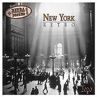 [2020年 カレンダー]壁掛けカレンダー/NEW YORK Retro ニューヨークレトロ