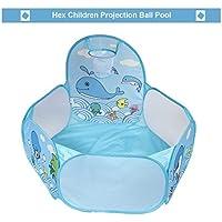 yongvigour Kids Ball Pitボールテント幼児用Ball Pit withバスケットボールフープとファスナー付きストレージバッグfor Toddlers