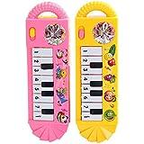 Amiu 子供のおもちゃ 早期教育/音楽/スマート玩具 ミュージカルグッズ 小型ポータブル ピアノ ランダムな色