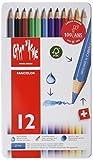 カランダッシュ 色鉛筆 水溶性 ファンカラー 12色セット 1288-312 正規輸入品