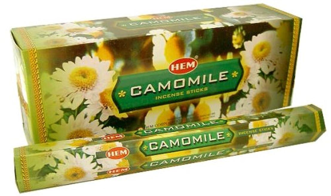 コロニアル揮発性給料HEM カモミール 6個セット